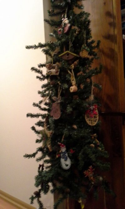 Decorated rustic holiday tree in Naperville - Decorated Rustic Holiday Tree Seasonal & Holiday For Sale On