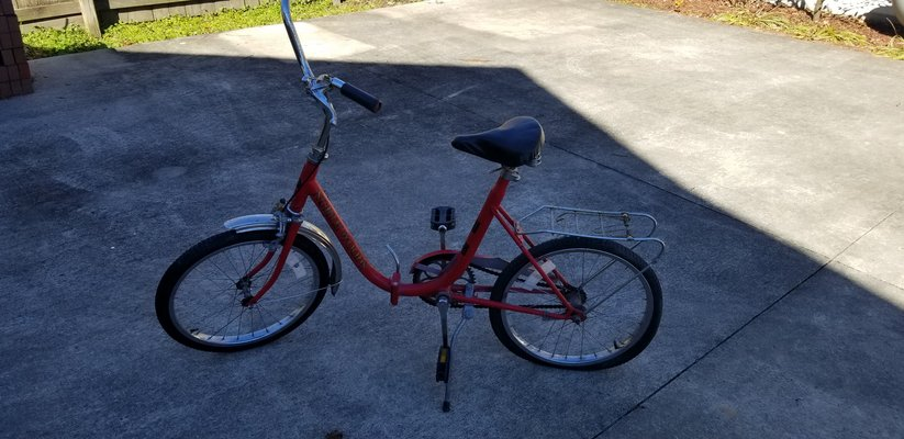 North Woods Folding Bike Fitness Sports For Sale On Lejeune Bookoo