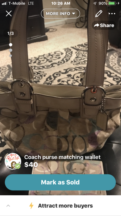 6c8d57e9ea Coach purse and wallet | Purses for sale on Travis AFB bookoo!