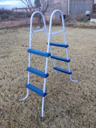 Above ground Swimming Pool Ladder | Hunting & Outdoors for sale on ...