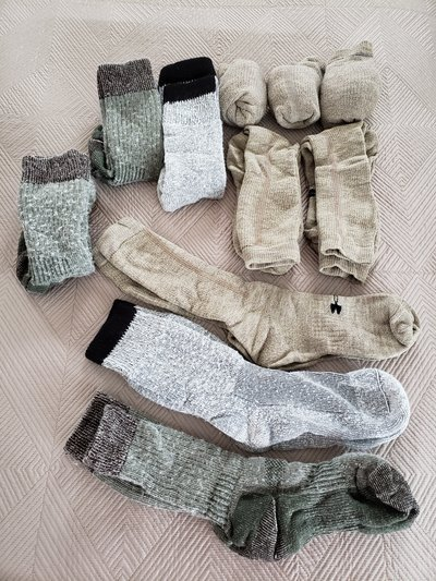 8b58dbac5 Various Military Type (Cold Weather) Thick Socks (Under Armour and Other) in
