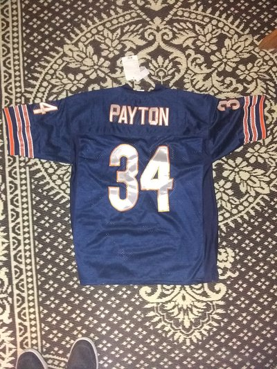 3e0a81d251e Walter Payton 1975 Throwback Jersey #34 | Clothing & Accessories for ...