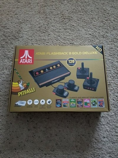 Atari Flashback 8 Gold Deluxe Video Games For Sale On