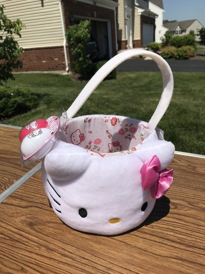 Brand New Hello Kitty Easter Basket Baby Kids For Sale