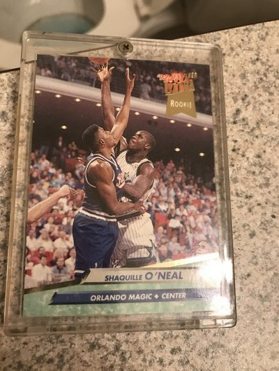 92 93 Fleer Ultra Shaquille Oneal Rookie Card