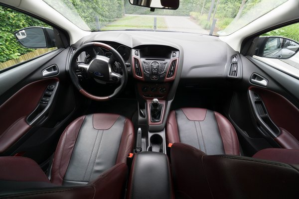 2012 Ford Focus Two Tone Leather Interior Cars For Sale On
