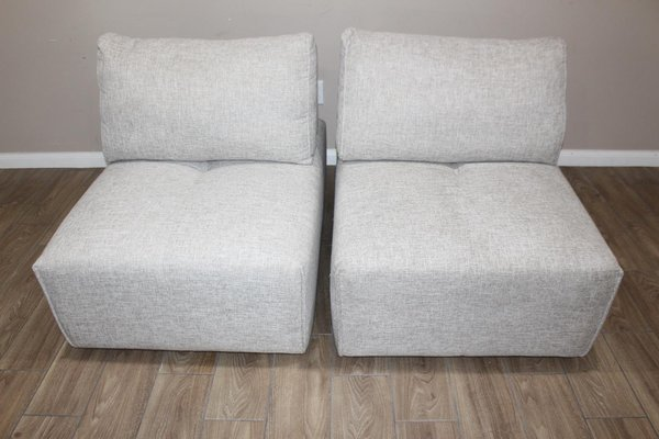 Incredible Pair Of Light Gray Chairs The Laney Park Collection Uwap Interior Chair Design Uwaporg