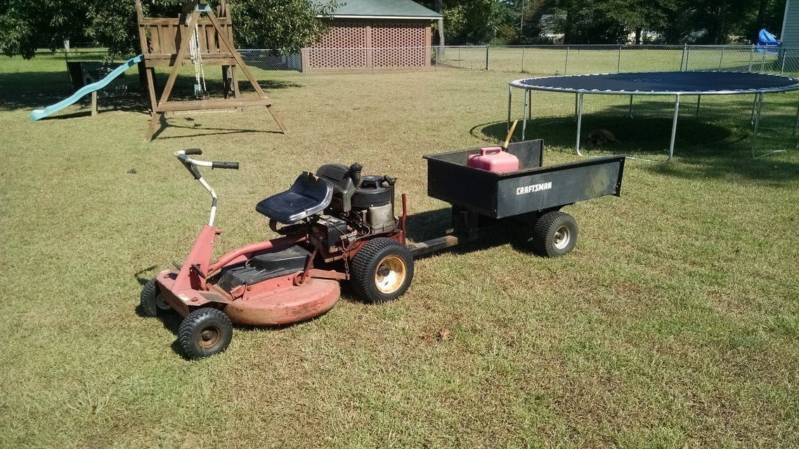 rear engine riding mowers on sale old snapper comet  100