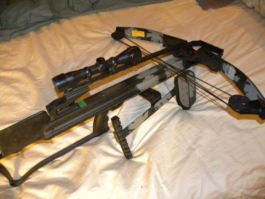 PSE Crossbow--STARFIRE II 150 Pound Pull / Unused,,,,With SCOPE | Hunting & Outdoors for sale on ...