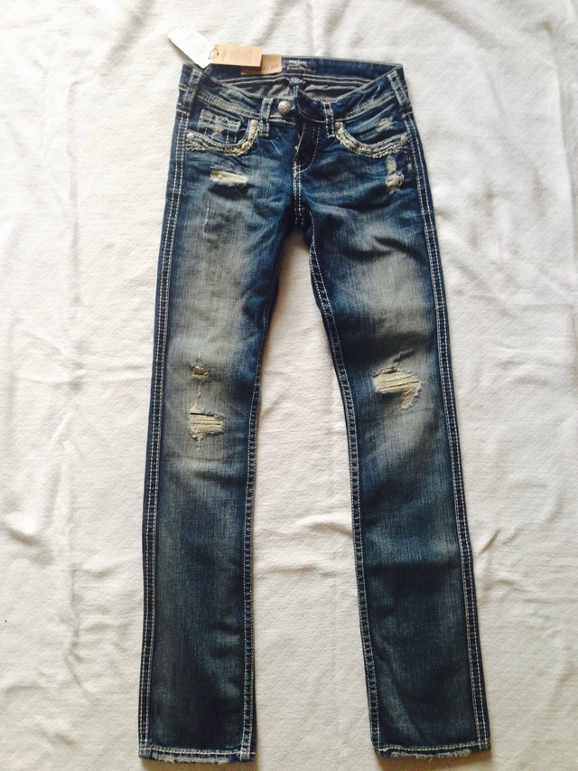 Brand New Silver Jeans (Sz. 25/33) Tuesday/ baby boot | Clothing ...