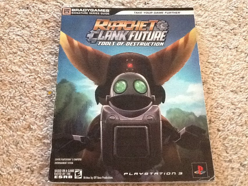 Ratchet Clank Guide Book Toys Games For Sale On Lejeune Bookoo