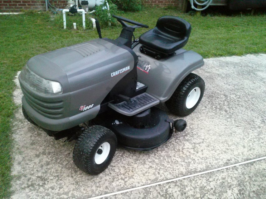 Craftsman Lt1000 Mower Manual : Riding lawn mower battery ebay autos post