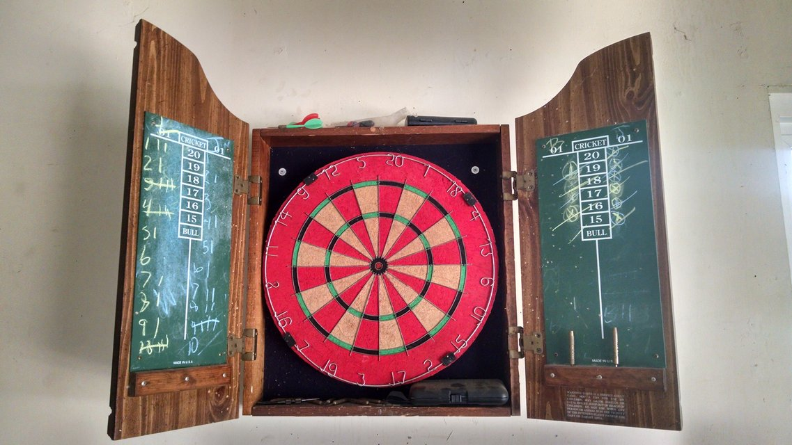 dart board | Fitness & Sports for sale on Robins Bookoo!