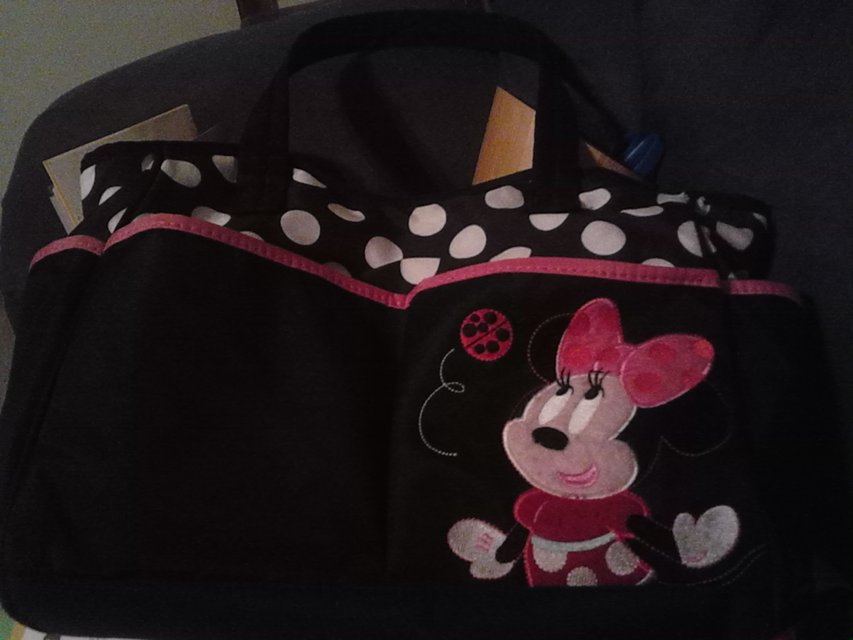 Minnie Mouse Diaper Bag Minnie Mouse diaper bag  in