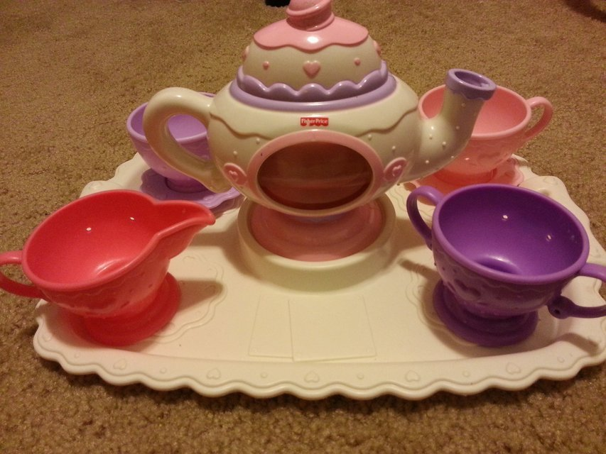 fisher price tea set | Toys & Games for sale on Polk bookoo!