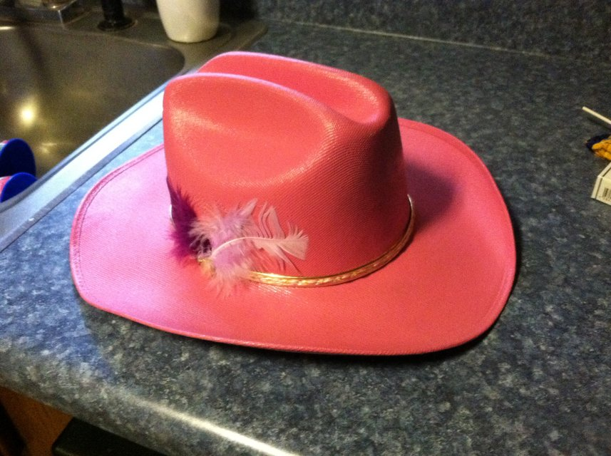 Girls Cowgirl Hat | Clothing: Kids for sale on Robins Bookoo!
