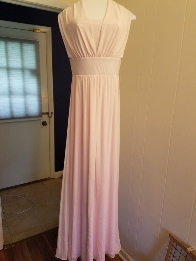 White House Black Market chiffon gown | Clothing: Women for sale on ...