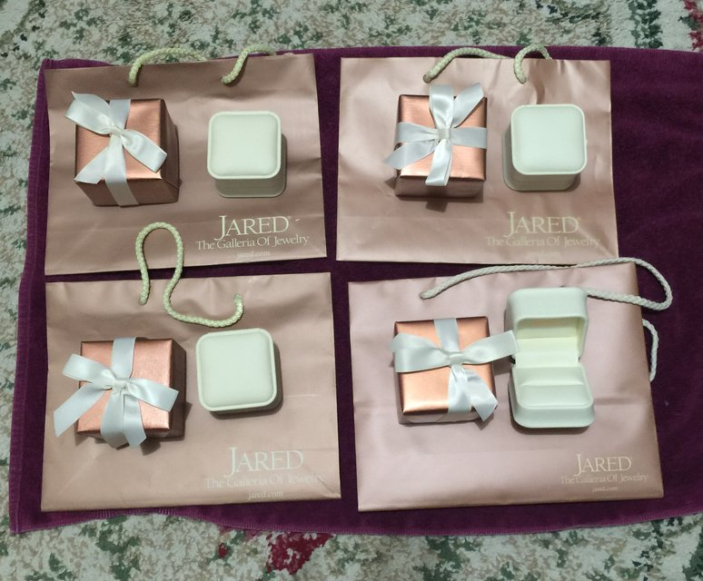 jewelry box with gift box gift bag Jared Jewelry for sale on