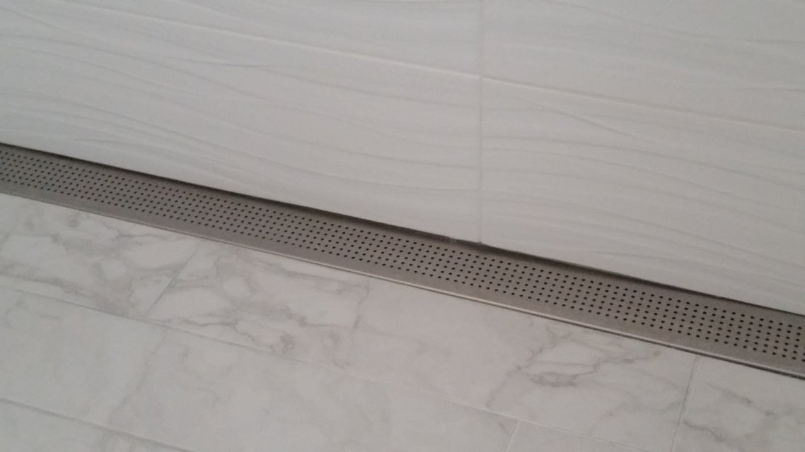 NEW 60 Inch Stainless Steel Chrome Linear Shower Drain In Plainfield