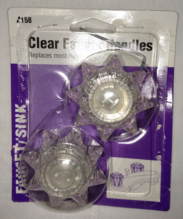 New A158 Clear RV Faucet Handles | Camping for sale on Robins Bookoo!