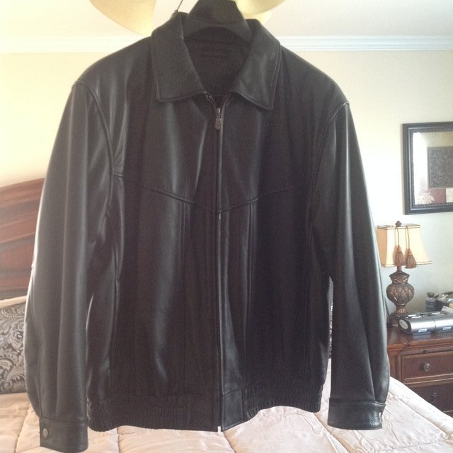 Men S Roundtree And Yorke Soft Leather Jacket Clothing Men For