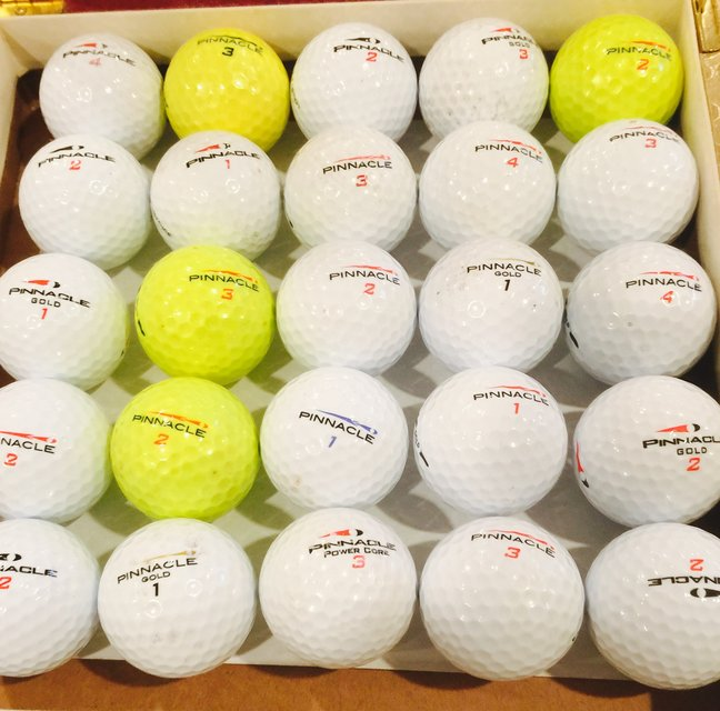 30 Pannicle Used Golf Balls Near Mint Condition Golf For Sale On