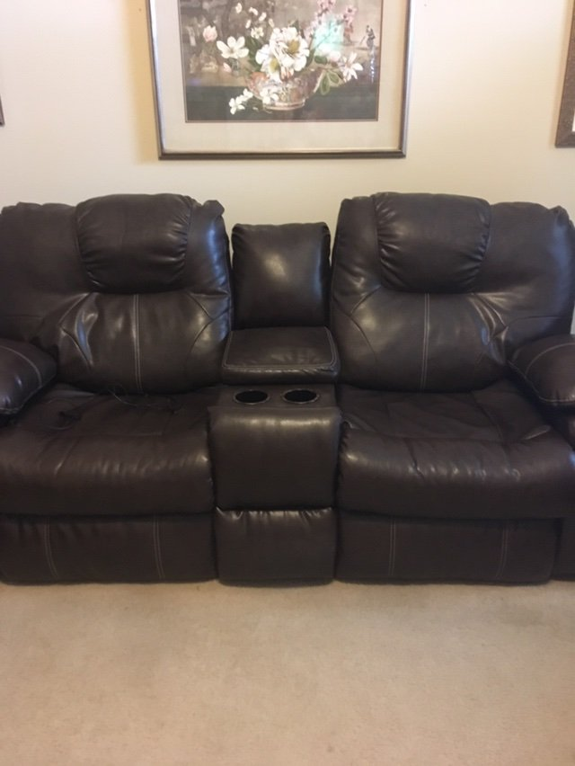 dual reclining loveseat in warner robins