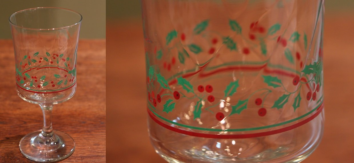 Set of 21 1980s Arby's Christmas Glasses | Household for sale on ...