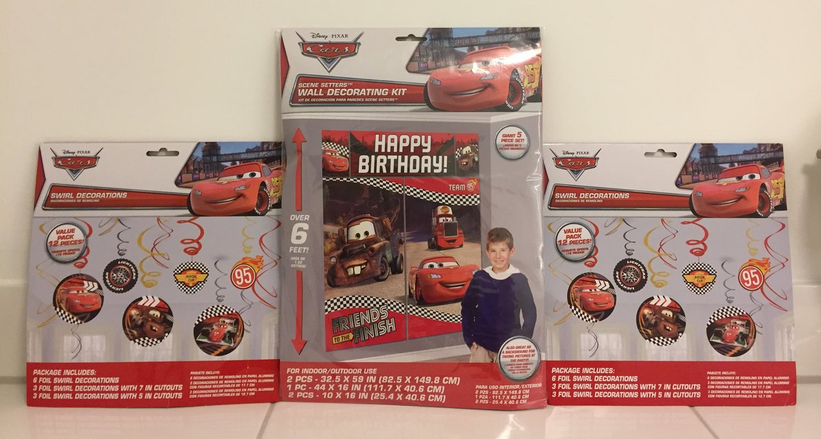 Disney Cars Birthday Decorations In Stuttgart