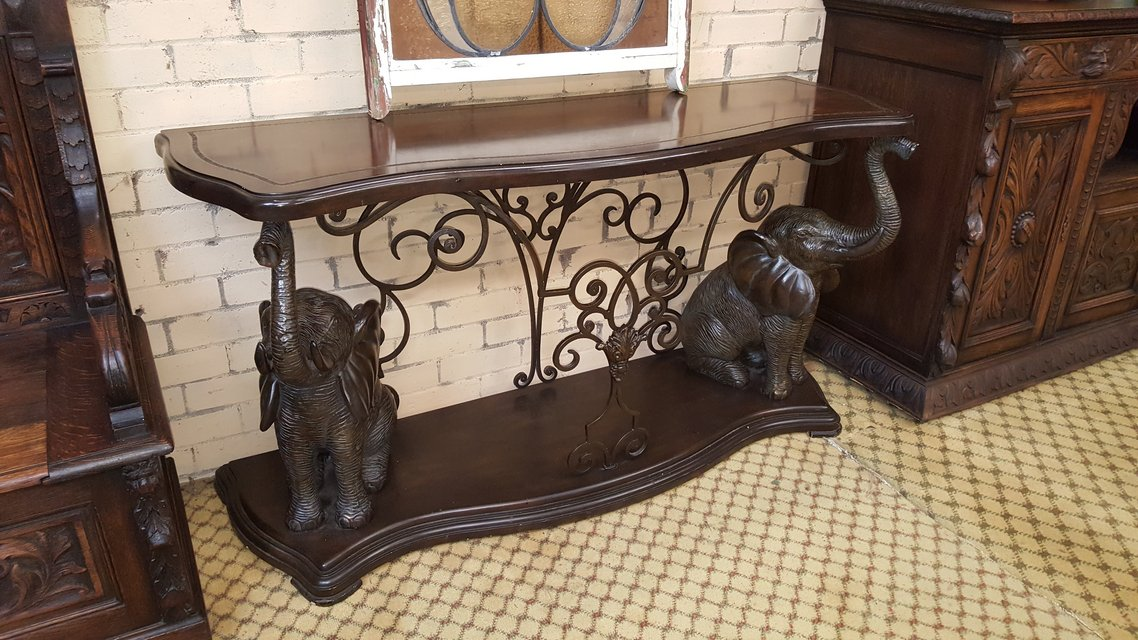 Elephant Console Table Antiques by owner for sale on Lakenheath