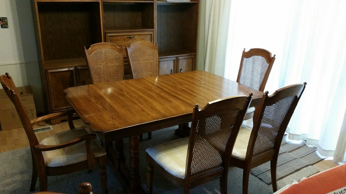 Singer Dining Room Table U0026 Chairs In Naperville
