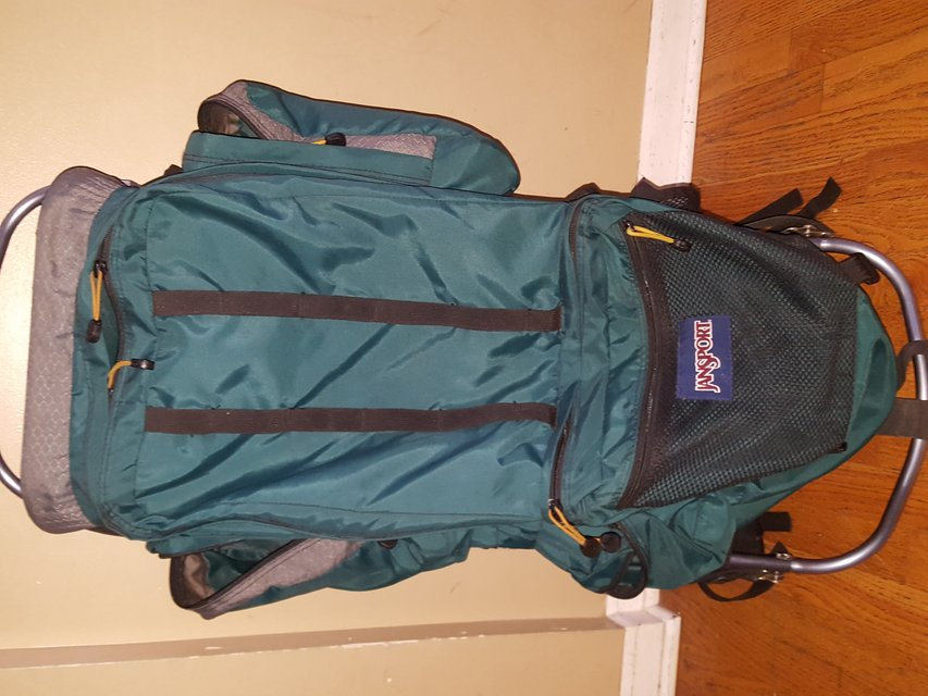 jansport external frame hiking backpack in naperville - External Frame Hiking Backpack