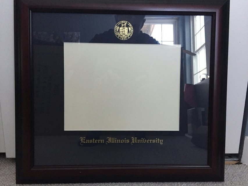 Diploma Frame Eastern Illinois University | Home Decor for sale on ...