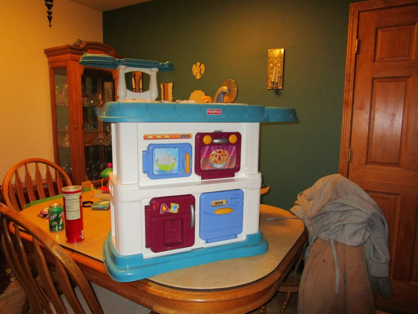 Fisher Price Grow With Me Kitchen In Joliet