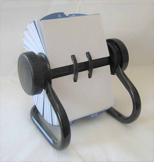 Rolodex open rotary business card filing system household for sale rolodex open rotary business card filing system in naperville colourmoves