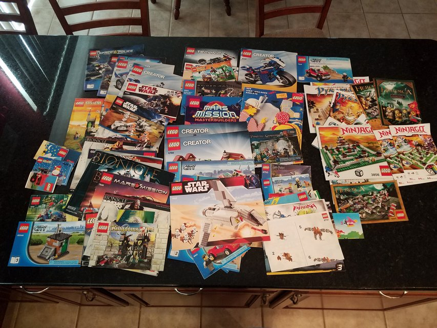 50 Lego Instruction Books Toys Games For Sale On Naperville Bookoo