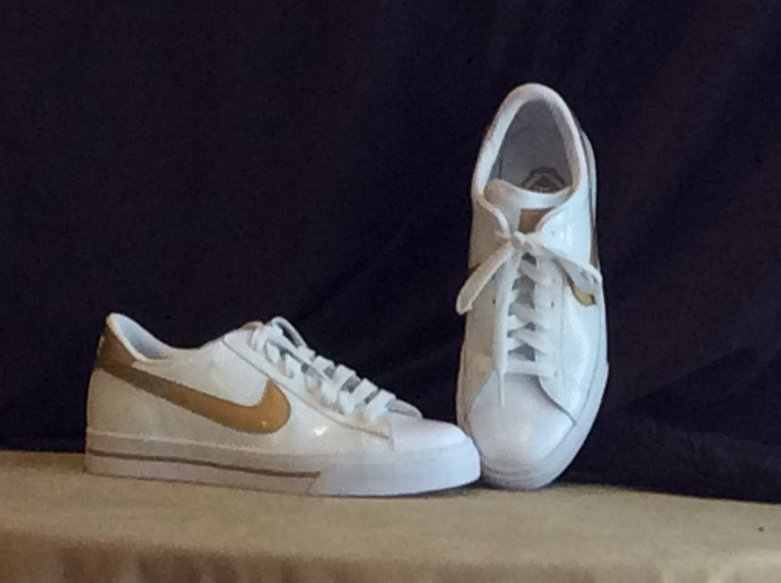 a5c0bbe021d6d4 Nike Sweet Classic AP Low Womens White  Gold