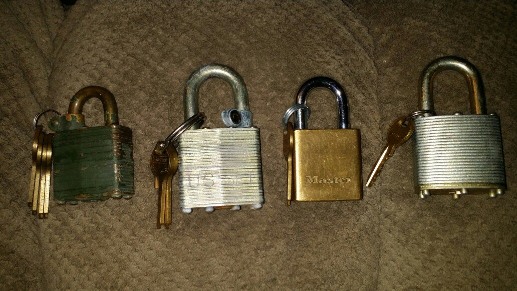 Locks With Keys Household For Sale On El Paso Bookoo