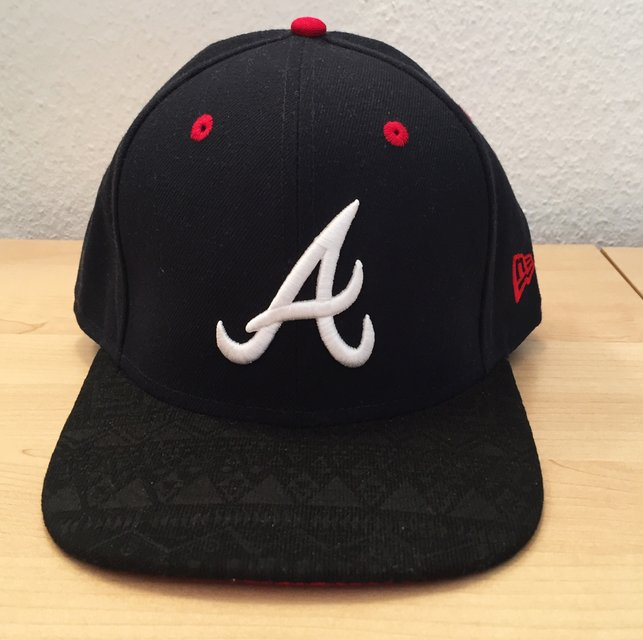 80bd7b7658541 4397a 816fb  usa new era atlanta braves tribal tone 9fifty snapback cap  original fit in wiesbaden 08eee 848c2