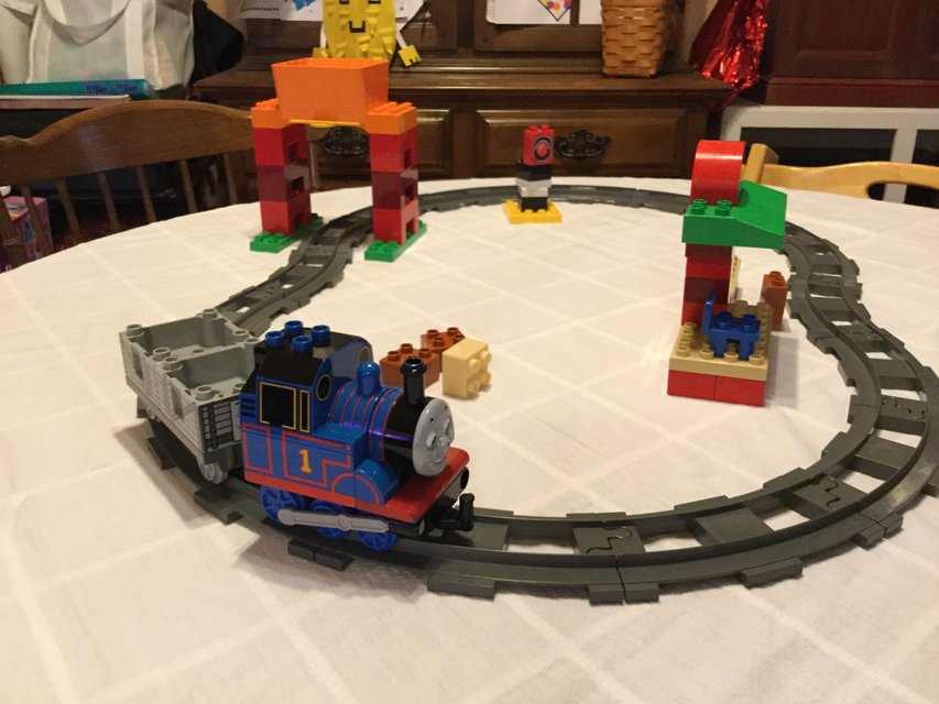 Lego Duplo Thomas Friends Load And Carry Train Set Toys Games