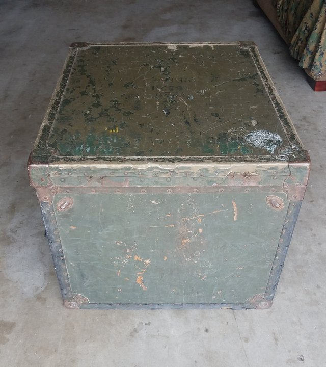 Vintage Chest In Camp Pendleton