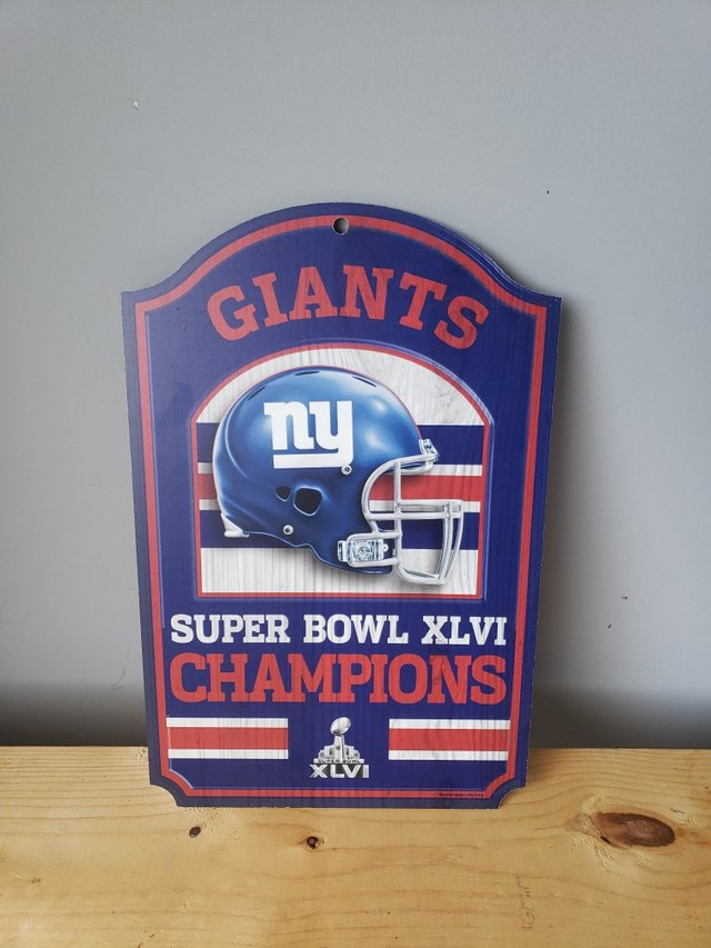 Ny Giants Decor Home Decor For Sale On Clarksville Bookoo