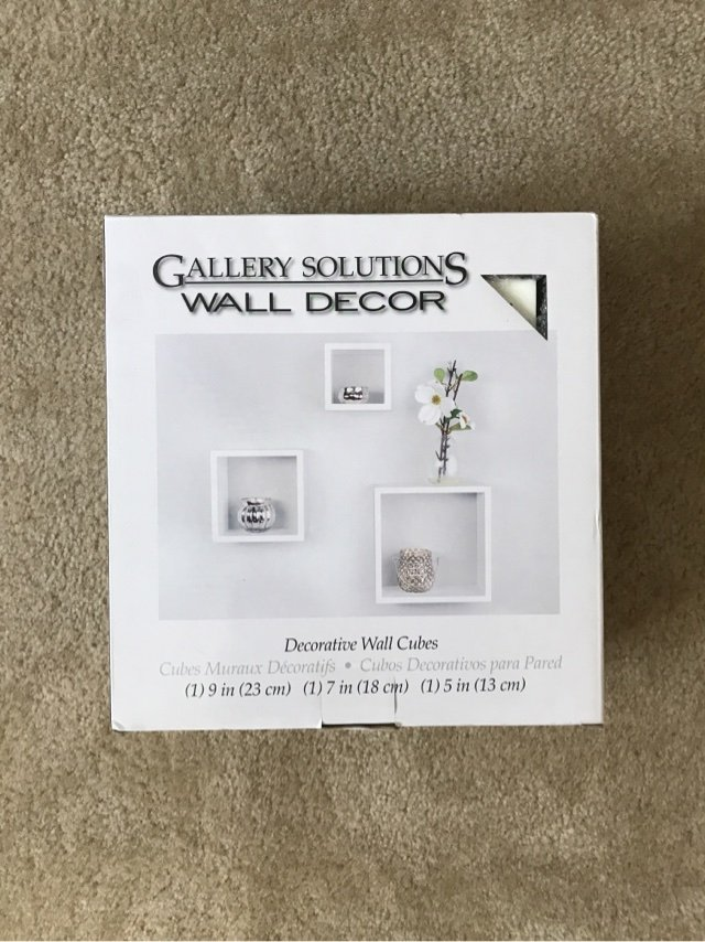 Decorative Wall Cubes Home Decor For Sale On Okinawa Bookoo