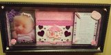 PERSONALIZED BABY GIRL SHADOW BOX (LG) in Summerville, South Carolina