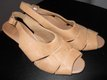 Clarks Ladies Sandals. Soft Tan Leather. 8 1/2 in Baytown, Texas